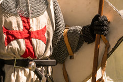 Caballeros Templar Imagen de archivo libre de regalías