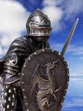 Caballeros y armadura Imagen de archivo libre de regalías