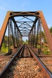 Caballete del ferrocarril Fotos de archivo