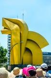 Caballito Sculpture, Mexico City Stock Image