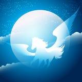 Caballo con alas Foto de archivo libre de regalías