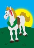 Caballo de la historieta Imagen de archivo libre de regalías