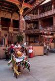 Caballo de la manía, teatro del globo, abundancia Londres de octubre Imagen de archivo libre de regalías