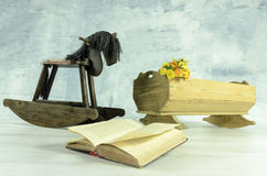 Caballo de madera Imagenes de archivo