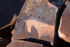 Caballo del arte de la roca de San Fotografía de archivo libre de regalías