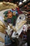 Caballo del carrusel Fotografía de archivo libre de regalías