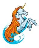 Caballo del unicornio de la fantasía libre illustration