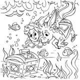 Caballo jorobado mágico Imagen de archivo libre de regalías