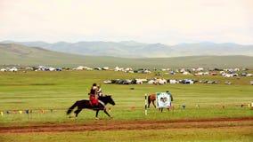 Caballo medieval Archer Shows, Mongolia metrajes