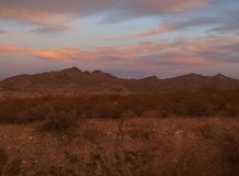 Caballo Mountains Sunset Stock Photos