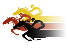 Caballo Racing libre illustration