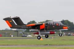 Caballo salvaje alemán anterior de Luftwaffe norteamericano Rockwell OV-10B de la fuerza aérea fotos de archivo libres de regalías