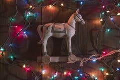 Caballo viejo del juguete Foto de archivo libre de regalías