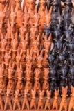Caballos de la arcilla de Bankura fotografía de archivo