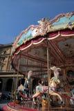 Caballos del carrusel Fotos de archivo