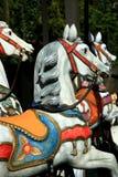 Caballos del carrusel Imagen de archivo
