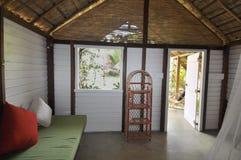 Cabana пляжа гостиницы Стоковое фото RF