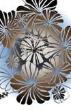 cabana флористический Стоковое Изображение RF