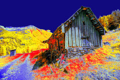 Cabana abstraída Imagem de Stock Royalty Free
