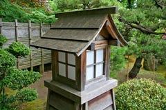 Cabana asiática do papel e da madeira Imagem de Stock