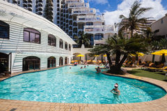 Resort Pool Holidays Summer Stock Photos