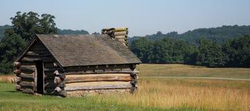 Cabana da forja do vale Fotografia de Stock Royalty Free