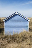 Cabana da praia de Hunstanton Foto de Stock Royalty Free