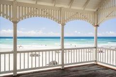 Cabana da praia de Kirra no Gold Coast, Queensland, Austrália imagens de stock royalty free