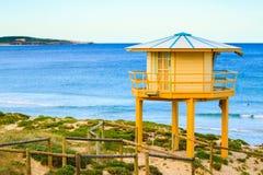 Cabana da praia do protetor de vida Fotografia de Stock
