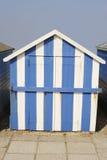 Cabana da praia em Ferring. Sussex. Reino Unido Foto de Stock