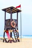 Cabana da salva-vidas Imagem de Stock Royalty Free