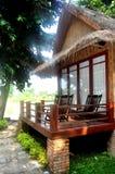 Cabana de bambu Fotografia de Stock Royalty Free