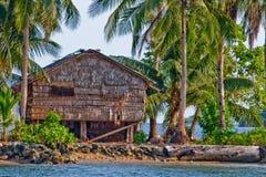 Cabana de bambu 2225 Fotografia de Stock Royalty Free