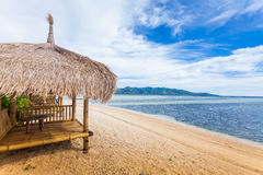 Cabana de bambu foto de stock royalty free