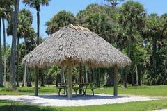 Cabana de Chickee Imagem de Stock