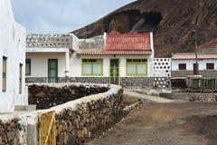 Cabana de Fishermans em Cabo Verde Imagem de Stock