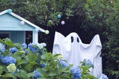 Cabana de Ghost imagens de stock