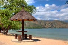 Cabana de HDR em uma praia Fotografia de Stock Royalty Free