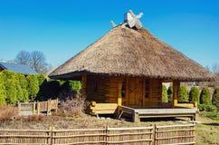 Cabana de madeira Foto de Stock Royalty Free