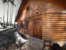 Cabana de madeira Imagem de Stock Royalty Free