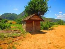 Cabana de madeira Imagens de Stock