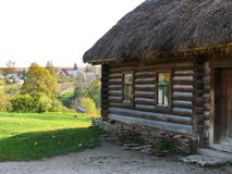 Cabana de madeira de Kucharska Imagens de Stock