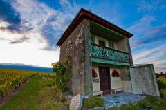 Cabana de pedra Foto de Stock Royalty Free