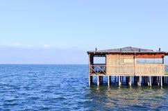 Cabana de Reed Fotografia de Stock Royalty Free