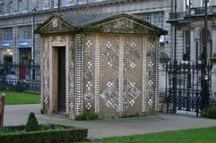 Cabana de Shell em jardins de Grosvenor Fotografia de Stock