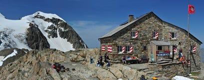 Cabana de Tierbergli Fotos de Stock Royalty Free