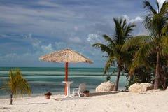 Cabana de Tiki Imagens de Stock