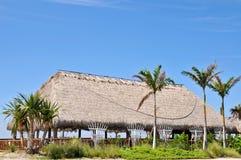 Cabana de Tiki fotografia de stock royalty free