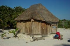 Cabana de Tulum Imagem de Stock