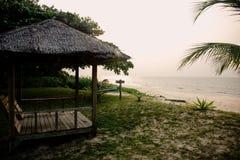Cabana do alojamento do beira-mar de Tempurung Imagem de Stock